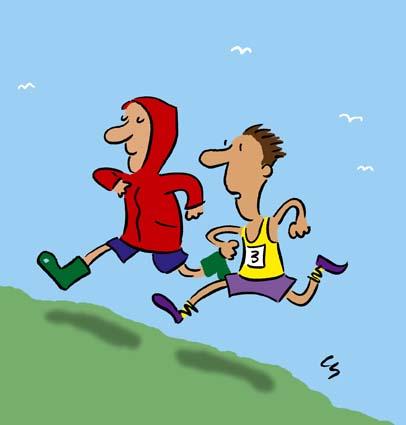 Espero que en este a  241 o que viene  te equivoques No Running Cartoon